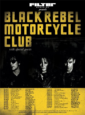 Filter Magazine Presents BRMC US tour